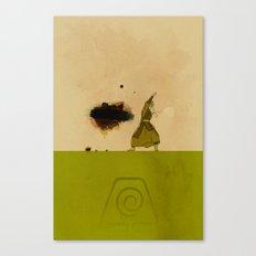 Avatar Kyoshi Canvas Print