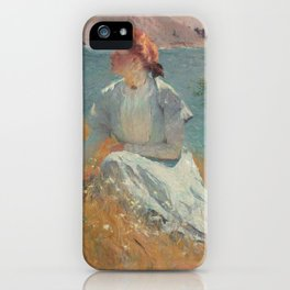 Margaret Gretchen Strong by Frank Weston Benson iPhone Case