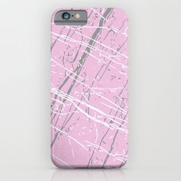Pirouette, Ultimate Gray & Lucent White iPhone Case