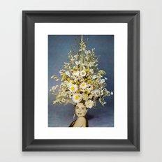 Floral Fashions Framed Art Print
