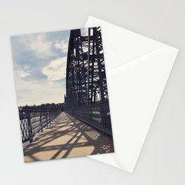shadow stripes Stationery Cards