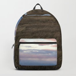 Coastal Cotton Candy Colors Backpack