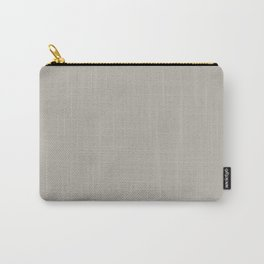 Neutral Stone Grey - Beige Solid Color Parable Farrow and Ball Purbeck Stone 275 Carry-All Pouch