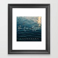 We Are Magic Framed Art Print