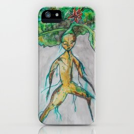 Mandrake root iPhone Case