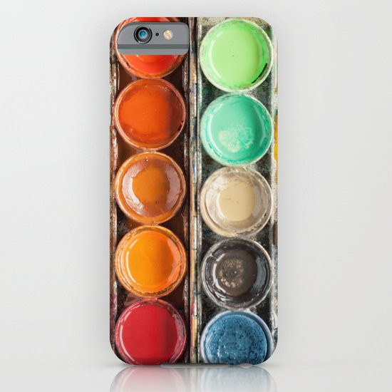 The Painter II (Vintage Edition) iPhone & iPod Case
