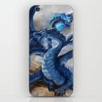 hydra iPhone & iPod Skins featuring Hydra dragon by amitabha