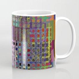 Pastel Playtime - Abstract, geometric, textured, pastel themed artwork Coffee Mug