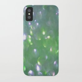 Glitter Bubbling iPhone Case
