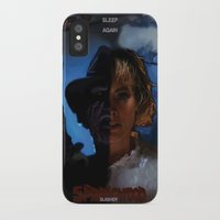 freddy krueger iPhone & iPod Cases featuring Freddy Krueger - Never Sleep Again by Saint Genesis