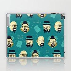 heisenberg pattern Laptop & iPad Skin