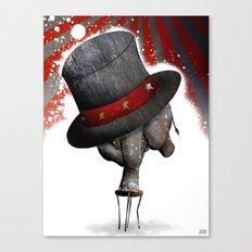 Circus ∫ Animal Surrealism Canvas Print