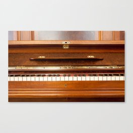 The Good Old Piano Canvas Print