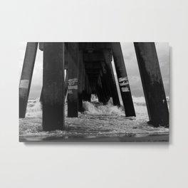 Navarre Pier Metal Print