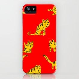 Tigrrrrs iPhone Case