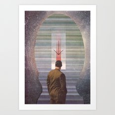 Pointed Aether Art Print