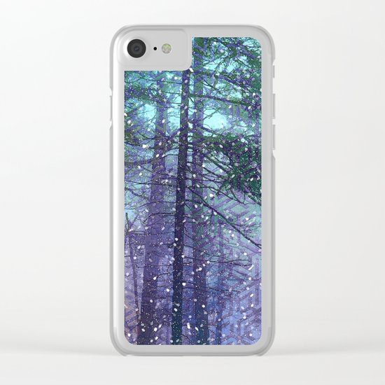 Happy Holidays 2 Clear iPhone Case