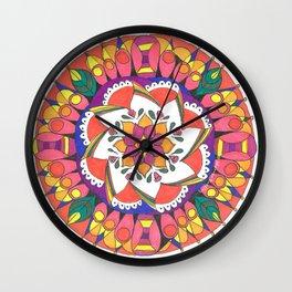 Fabulous fiesta Wall Clock
