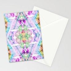 Wildflower kaleidoscope Stationery Cards