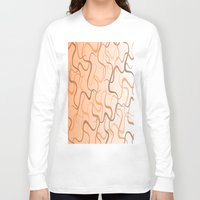 wave Long Sleeve T-shirts featuring Wave by ArtSchool