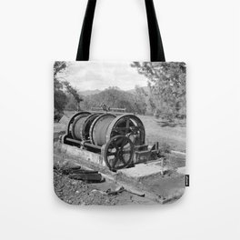 Mountain King Gold Mine and Mill Tote Bag