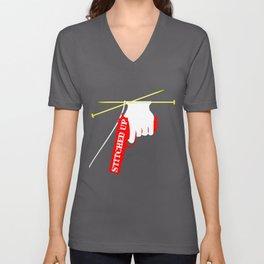 Stitched Up Unisex V-Neck