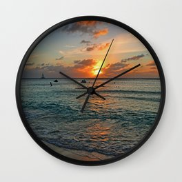 Even in Darkness Wall Clock