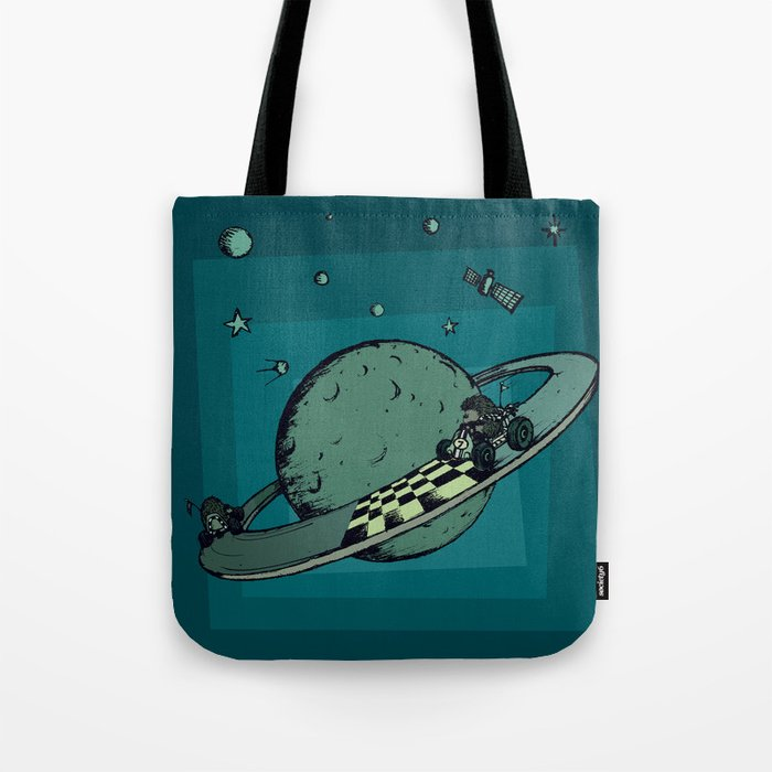 Space race Tote Bag