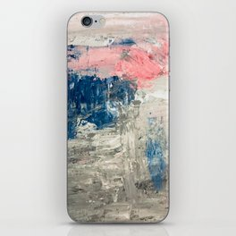 Abstract in Grey iPhone Skin