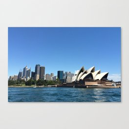 Opera of a Skyline Canvas Print