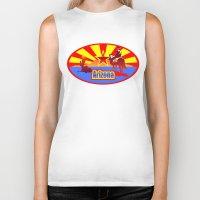 arizona Biker Tanks featuring Arizona by Anfelmo