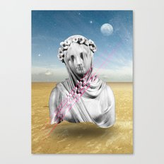 Desert Sculpture Canvas Print