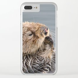 Why I otter.... Clear iPhone Case