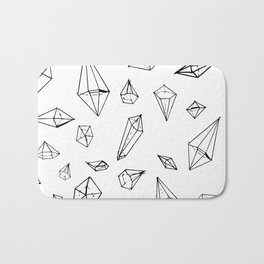 Diamonds Bath Mat
