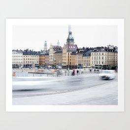 Stockholm, Sweden Art Print
