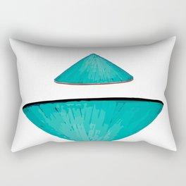 Non la Vietnamese Conical Leaf Hat Rectangular Pillow