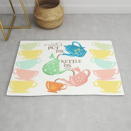 Put The Kettle On Rug