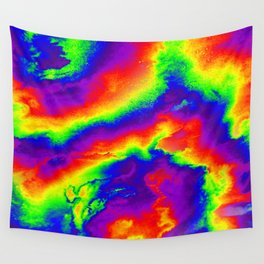 Psychedelic  Fire Wall Tapestry