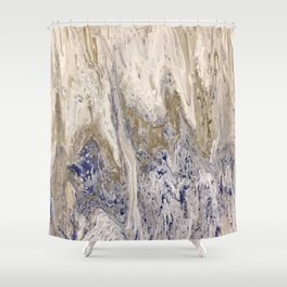 Marbled #2 Shower Curtain