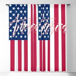 American Flag Blackout Curtain