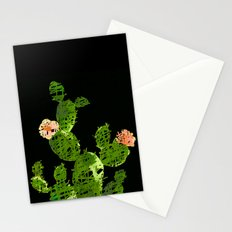 weird cactus black version Stationery Cards