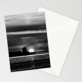 Silhouette... Black and White Stationery Cards