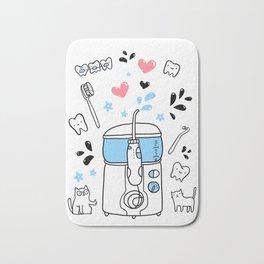 Dental hygiene Bath Mat