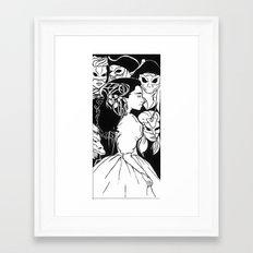 Labyrinth- Sarah Framed Art Print