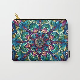 Kaleidoscopic Mandala Carry-All Pouch