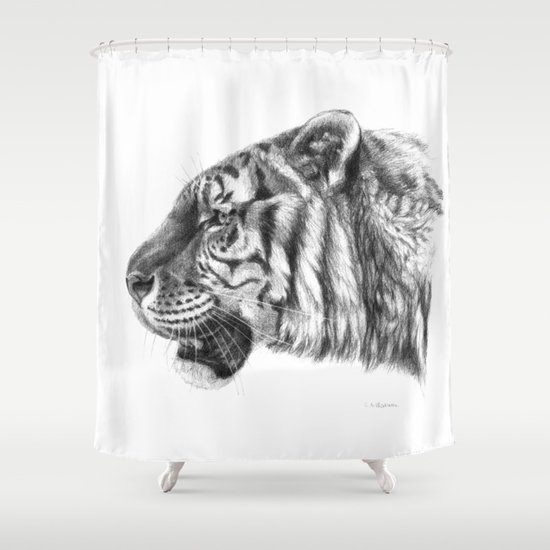 Tiger profile G077 Shower Curtain