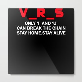 Virus Metal Print