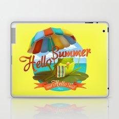 Hello summer and hello sea! Laptop & iPad Skin