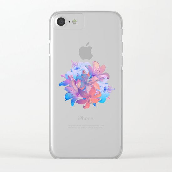 lily bouquet Clear iPhone Case