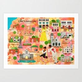 Intramuros Art Print